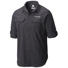 Columbia Irico Long Sleeve Shirt Men black heather